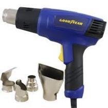 Soprador termico goodyear 2000w com acessorios 2 potencias 220v -