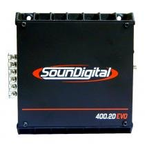 Soundigital Sd400.2d Evo 2 Black / Sd 400.2 - 2ohms -