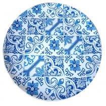 Sousplat de plástico Indigo Portuguese azul 33 cm - 21332 - Urban