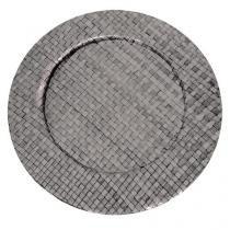 Sousplat fendi em rattan 33 cm linha pandanus - Dynasty