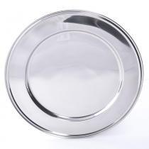 Sousplat Silver - 6 Unid - Soul home