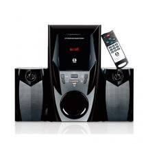 Speaker 2.1 Bluetooth E Rádio 44W Rms Sp-365B Bk C3 Tech -