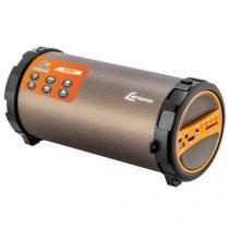 Speaker Boom System com Bluetooth Preto/Laranja Bt 530 Lenoxx -