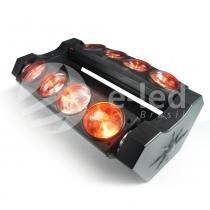 Spider Beam 8x12W Moving RGBW - Bivolt - E-led Brasil