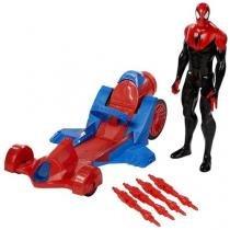 Spider Man com Carro de Corrida - Hasbro