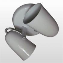 Spot B/2 Cone Em Aluminio Branco Jm Iluminação - JM ILUMINACAO