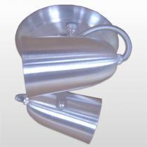 Spot B/2 Cone Em Aluminio Escovado Jm Iluminação - JM ILUMINACAO