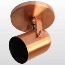 Spot de Alumínio 378/1 Spot Line E27 1x60W Base Cobre - SPOT LINE