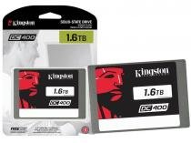 SSD 1.6TB Kingston DC400 Servidor 1600GB Enterprise 2.5 6GB/S SEDC400S37/1600G -