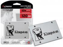 SSD 120GB Kingston UV400 Desktop Notebook Ultrabook 2.5 6GB/S SUV400S37/120G -