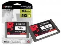 SSD 512GB Kingston KC400 Desktop Notebook Corporativo 2.5 6GB/S SKC400S37/512G -