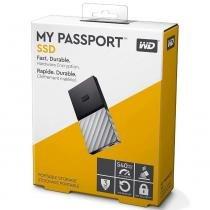SSD 512GB WD My Passport Externo Portátil USB 3.1 e TypeC - Modelo WDBKVX5120PSL-WESN - Western digital wd