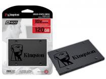 "SSD Kingston Desktop Ultrabook A400 120GB 2.5"" SATA III BLISTER -"