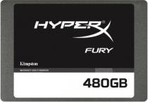 SSD Kingston HyperX Fury 2.5 480GB SATA III 6.0Gb/s - SHFS37A/480G -