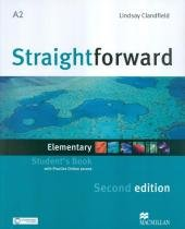 Straightforward elementary sb with portfolio pack - 2nd ed - Macmillan