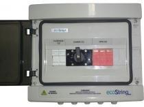 String BOX Ecosolys Centrium ENERGY 1000V 32A 01 ou 02 ENTRADAS/ 01 Saida C/FUSIVEL -