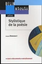 Stylistique de la poesie - Belin