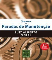 Sucesso Em Paradas De Manutencao - 02 Ed - Qualitymark