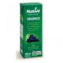 Suco de uva orgânico 200ml - Native