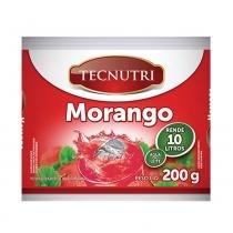 Suco em Pó Sabor Morango 200g - Tecnutri - Diversos