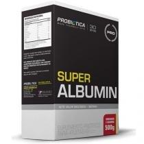 Super Albumin - 500g - Probiótica - Morango c/ Banana - Probiótica