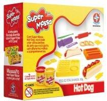 Super Massa Hot Dog Com 2 Potes de Super Massa - Estrela -