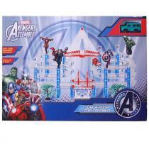 Super Pista com Carrinho Avengers Assemble Hulk 22626 Toyng - Toyng