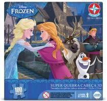 Super Quebra Cabeça 3D Frozen - Estrela - Estrela