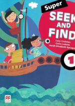 Super seek and find 1 sb and digital pack - 2nd ed - Macmillan