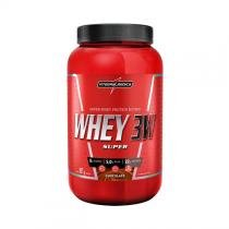 Super whey 3w 907g - chocolate - Integralmedica