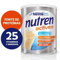 Suplemento Alimentar Nestlé Nutren Active Baunilha 400g -