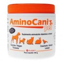Suplemento Avert Amino Canis Pet - 100 g -