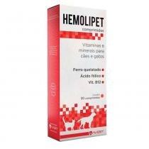 Suplemento Avert Hemolipet Cães e Gatos 30 Comprimidos -