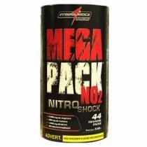 Suplemento Completo Mega Pack Nitro NO2 - Integralmédica contém 44 Packs com 9 Itens cada