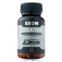Suplemento creatina monohidratada krom 120 cápsulas - Krom