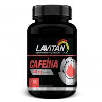 Suplemento de cafeína 210mg lavitan 120 cápsulas -
