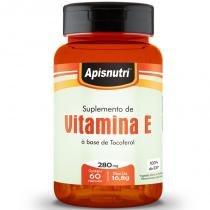 Suplemento de Vitamina E Apisnutri 60 cápsulas - Apisnutri