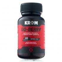 Suplemento Go-Berry Krom 120 Cápsulas - KROM