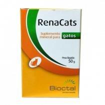 Suplemento mineral para gatos renacats 50g - bioctal -