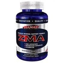 Suplemento Mineral ZMA Allmax 90 Cápsulas - Allmax Nutrition