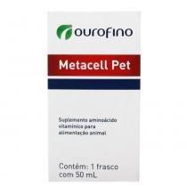 Suplemento Ouro Fino Metacell Pet - 50 mL - Ouro fino pet