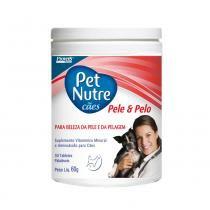 Suplemento Petnutre Pele  Pelo Tabletes - 60 g - Provets