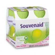 Suplemento Souvenaid Morango 125ml c/4 - SOUVENAID