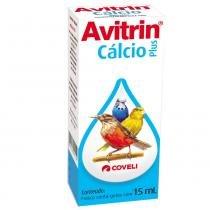 Suplemento Vitamínico Avitrin Cálcio - 15 mL - Avitrin