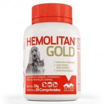 Suplemento vitamínico hemolitan gold 30g (30 comp.) - vetnil -