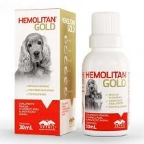 Suplemento vitamínico hemolitan gold 30ml - vetnil -