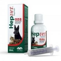 Suplemento vitaminico hepvet suspensao 60ml - vetnil -