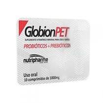 Suplemento Vitamínico Nutripharme GlobionPET para Cães e Gatos - Nutripharme