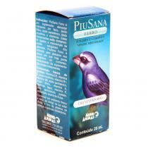Suplemento Vitamínico PiuSana Ferro - 20 mL - Mundo Animal