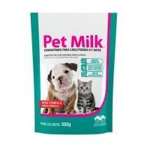 Suplemento vitamínico substituto do leite materno para filhotes pet milk 300g - vetnil -